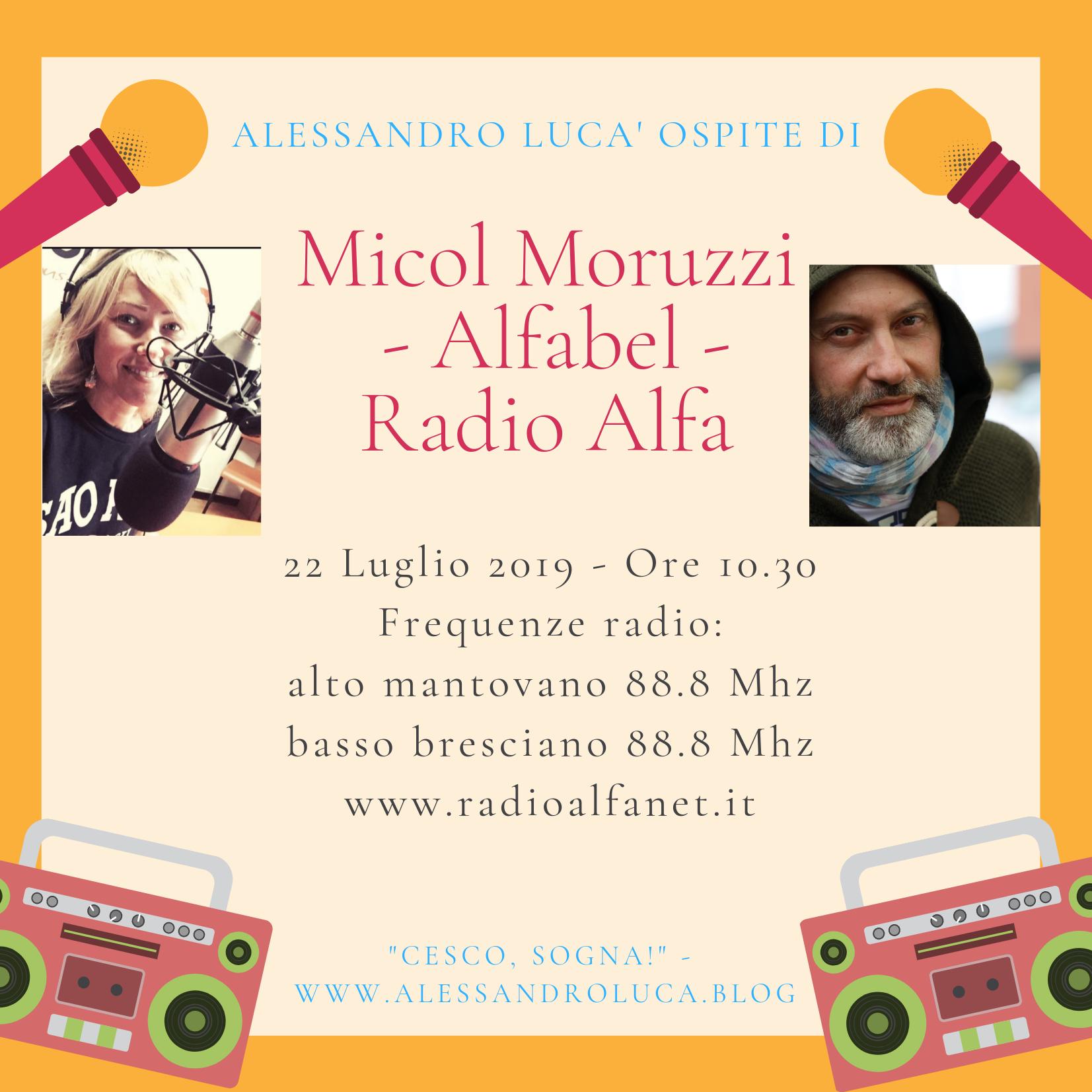 Ospite a Radio Alfa