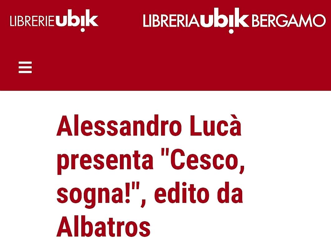 Cesco sogna, anche a Bergamo.