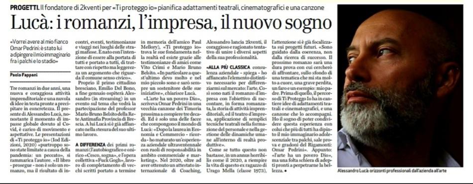 Bresciaoggi 05.01.2021