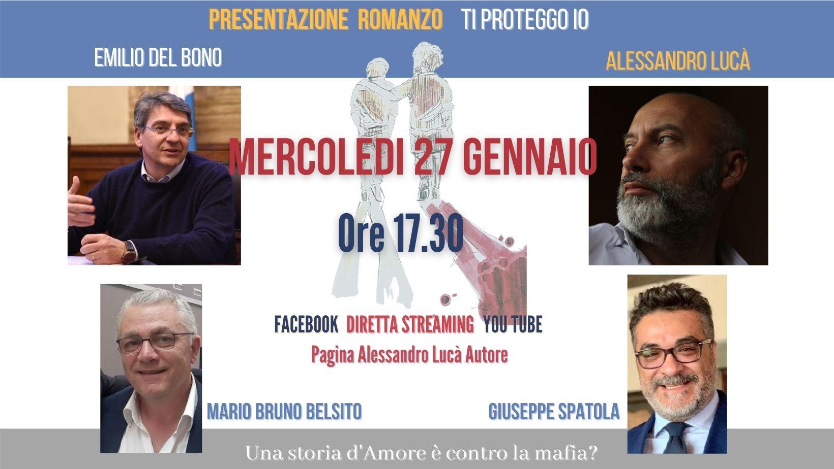 """Presentazione """"Ti proteggo io"""" con Emilio Del Bono (sindaco di Brescia)"""